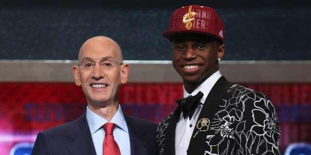 Cleveland Cavaliers select Andrew Wiggins with No. 1 overall pick in 2014 NBA draft