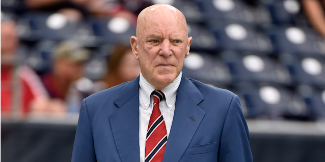 Texans owner Bob McNair invited questions over race relations with his team last fall. (AP)