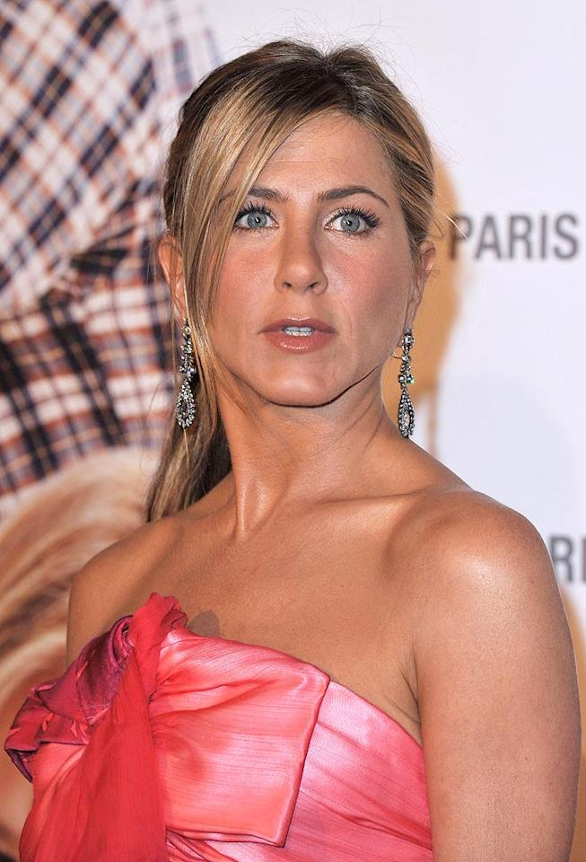 """<a href=""""http://www.gossipcop.com/jennifer-aniston-jason-sudeikis-christopher-gartin-love-triangle-dating-boyfriend/"""" target=""""new"""">Gossip Cop</a> examines every angle of <i>In Touch</i>'s story on Jennifer Aniston being """"caught in a love triangle."""" Pascal Le Segretain/<a href=""""http://www.gettyimages.com/"""" target=""""new"""">GettyImages.com</a> - May 28, 2010"""