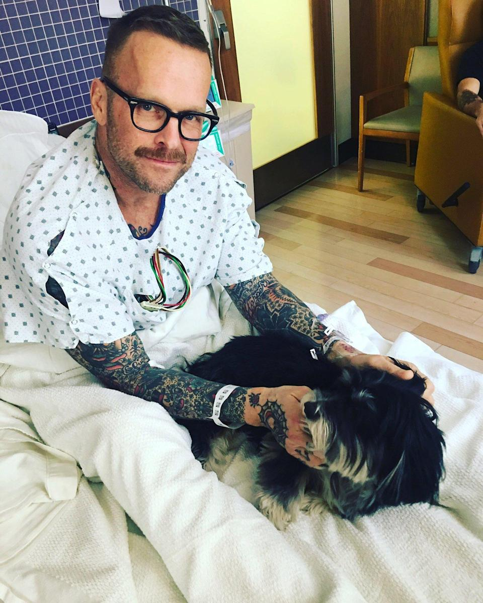 Biggest Loser Host Bob Harper Says Near-Fatal Heart Attack Changed His Mind About Marriage