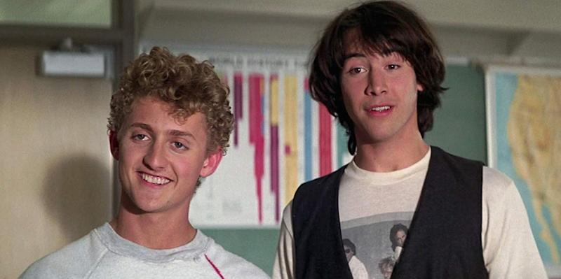 Alex Winter and Keanu Reeves will play slacker musicians Bill & Ted again in the 2020 franchise threequel.