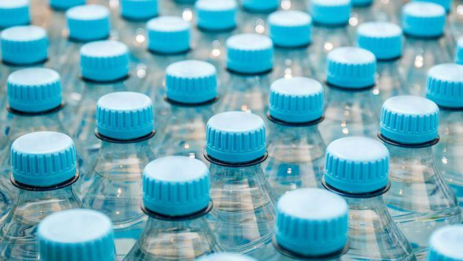 stock up on bottled water