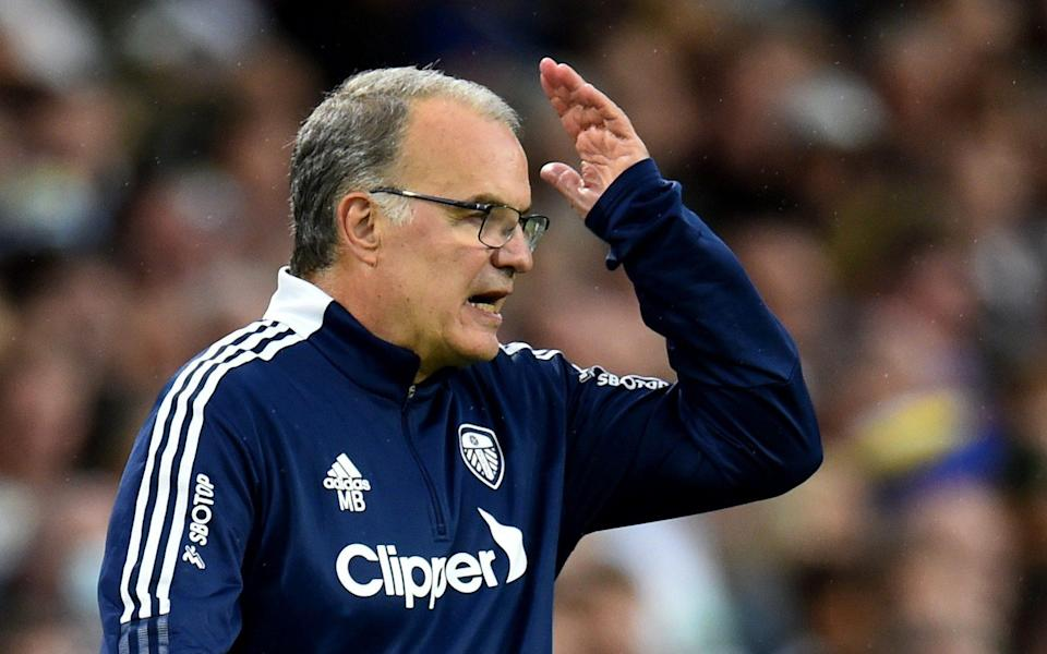 Marcelo Bielsa - Misfiring up front and soft in defence - are Leeds suffering second season syndrome? - REUTERS
