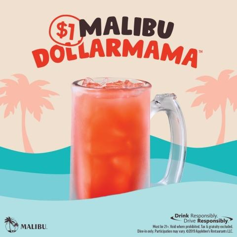 Get Your Drink on This Summer With Applebee's Malibu DOLLARMAMA™