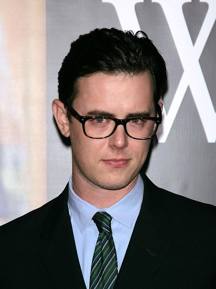 "<a href=""http://movies.yahoo.com/movie/contributor/1800355564"">Colin Hanks</a> at the New York premiere of <a href=""http://movies.yahoo.com/movie/1810026489/info"">W.</a> - 10/14/2008"