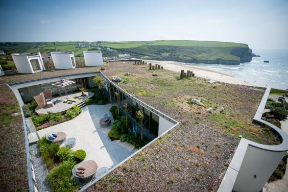 Sink into a hot tub with unbeatable sea views at the Scarlet (The Scarlet)