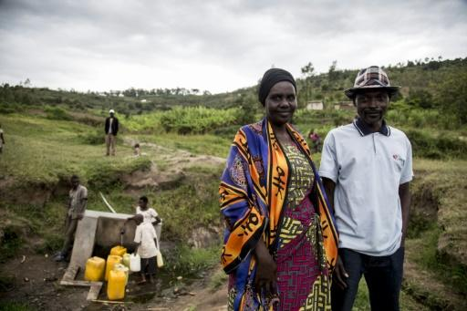 Although the search for justice continues with Rwanda determined to chase down key suspects, reconciliation is the path chosen by Jean-Claude Mutarindwa, a Hutu, and Daphrosa Mukarubayize, a Tutsi, seen in the valley separating their villages