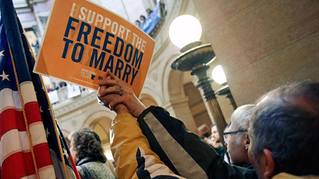On Gay Marriage, Public Leads Elected Leaders