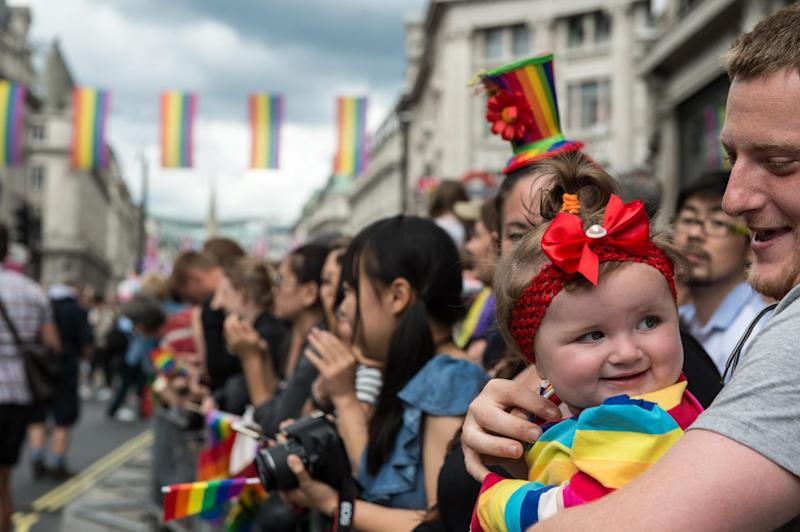 A new Alabama law allows private adoption agencies to discriminate against LGBTQ parents (stock image): Chris J Ratcliffe/Getty Images