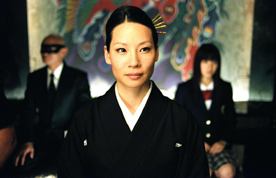 "<p>If you think director Quentin Tarantino's oft-gory storytelling isn't for you, we'd suggest making an exception for <em>Kill Bill: Volume 1</em>. The story is about a badass female assassin, played by Uma Thurman, who seeks revenge from those who wronged her—and her fight scenes with other women (Lucy Liu and Vivica A. Fox) that are the most compelling to watch. </p> <p><a href=""https://www.netflix.com/title/60031236"" rel=""nofollow noopener"" target=""_blank"" data-ylk=""slk:Now available to stream on Netflix."" class=""link rapid-noclick-resp"">Now available to stream on Netflix.</a></p>"