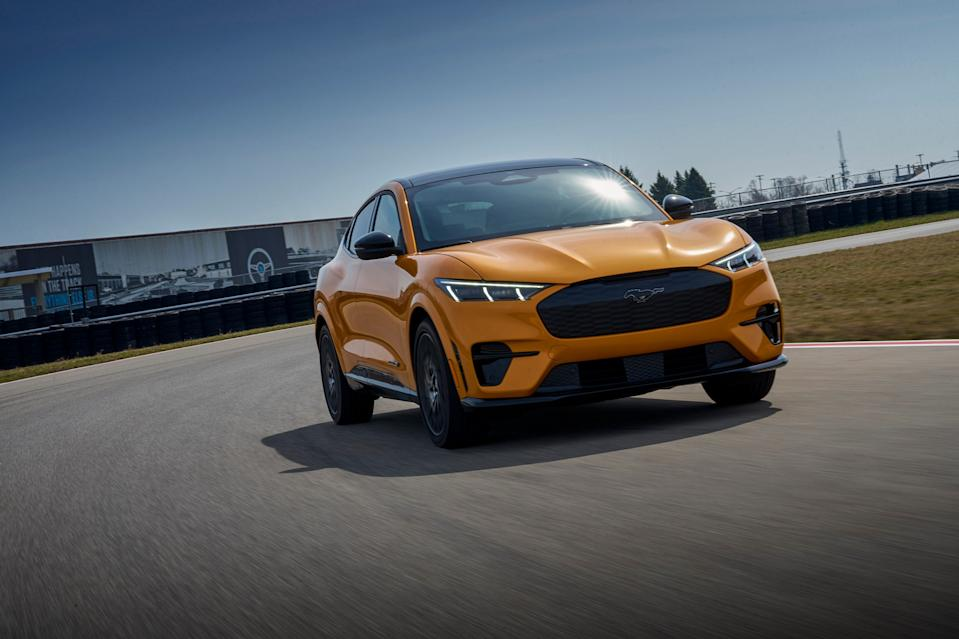 <p>Ford's hot-rod Mustang Mach-E GT EV starts at $59,900</p>