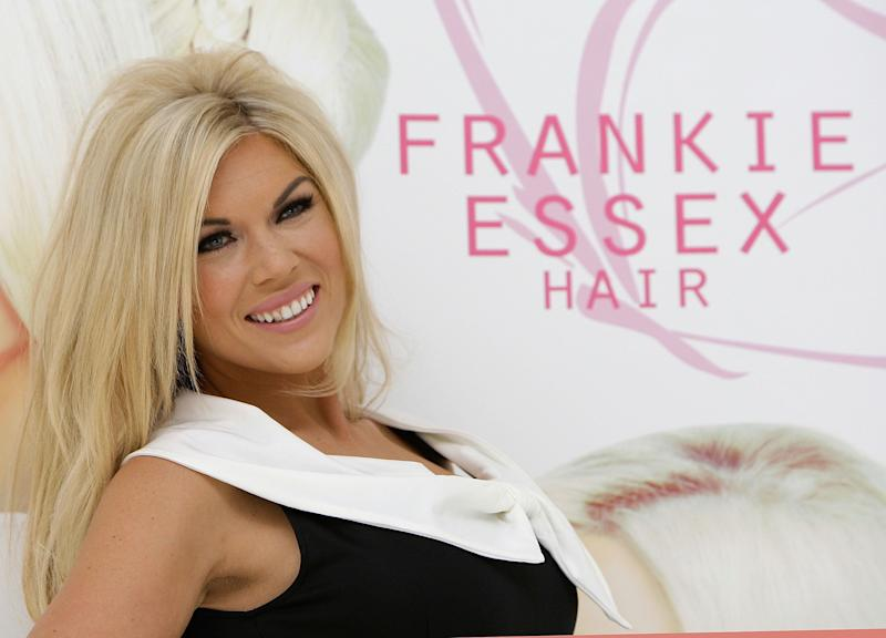 Frankie Essex launches Hair Extensions at the Worx Studio in Parsons Green, London.
