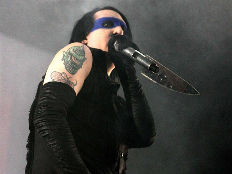 Marilyn Manson formed his name by juxtaposing two American pop culture icons (Getty Images)