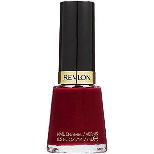 """<p><strong>REVLON</strong></p><p>amazon.com</p><p><strong>$3.97</strong></p><p><a href=""""https://www.amazon.com/dp/B004K0MU9K?tag=syn-yahoo-20&ascsubtag=%5Bartid%7C10050.g.34732152%5Bsrc%7Cyahoo-us"""" rel=""""nofollow noopener"""" target=""""_blank"""" data-ylk=""""slk:Shop Now"""" class=""""link rapid-noclick-resp"""">Shop Now</a></p><p>Red nails are in style all year long. In winter months, consider a deeper crimson, like this deep plum-berry polish from Revlon.<br></p>"""