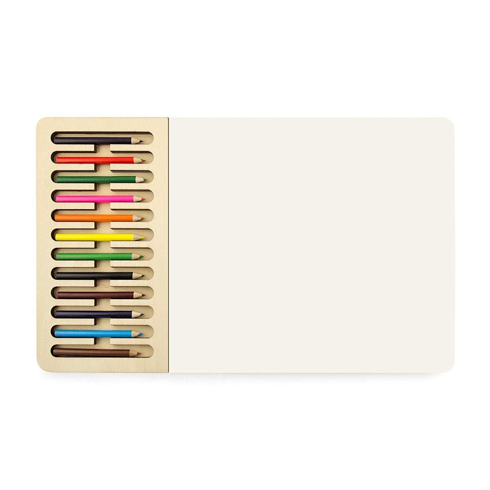 <p>Unlock their inner artist with this <span>Three by Three Seattle Jotblock Sketchpad Set</span> ($21) </p>