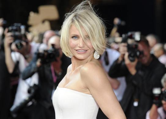 2: Cameron Diaz is a close second with earnings of $34 million.
