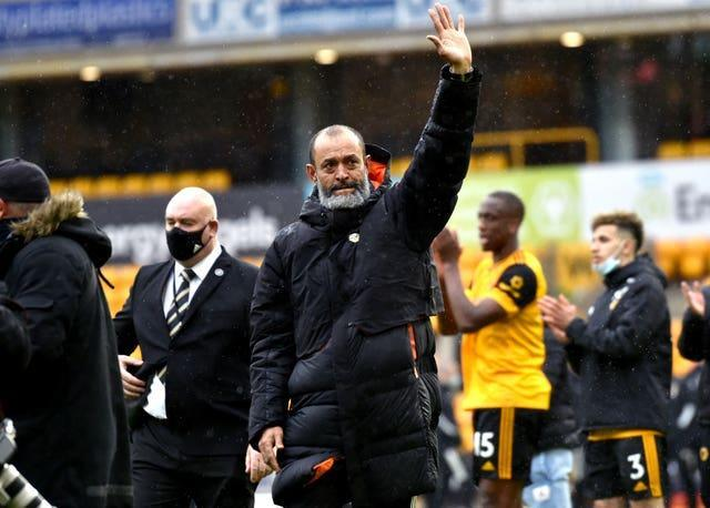 Nuno Espirito Santo ended his four-year spell at Wolves on Sunday