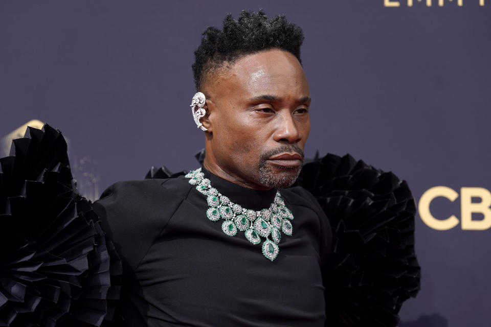 Billy Porter arrives at the 73rd Primetime Emmy Awards. - Credit: Chris Pizzello/Invision/AP