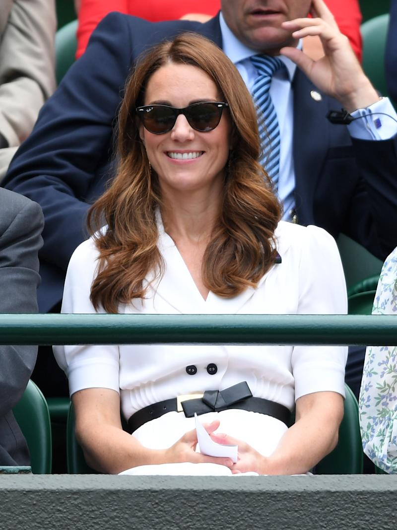 Middleton at Day 2 of Wimbledon 2019. (Photo by Karwai Tang/Getty Images)