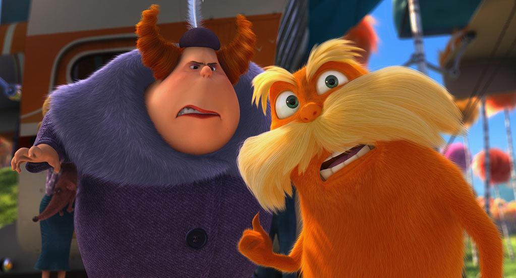 """Universal Pictures' """"<a href=""""http://movies.yahoo.com/movie/dr-seuss-the-lorax/"""">Dr. Seuss The Lorax</a>"""" - 2012"""