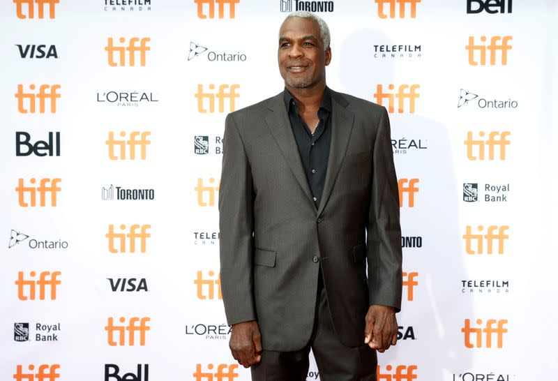 "FILE PHOTO: Oakley arrives on the red carpet for the film ""The Carter Effect"" during the Toronto International Film Festival in Toronto"