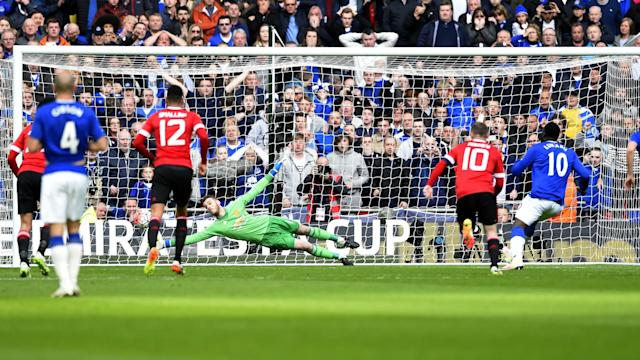 Young Manchester United defender Timothy Fosu-Mensah gave away a penalty during the club's semi-final win but was saved by David de Gea.