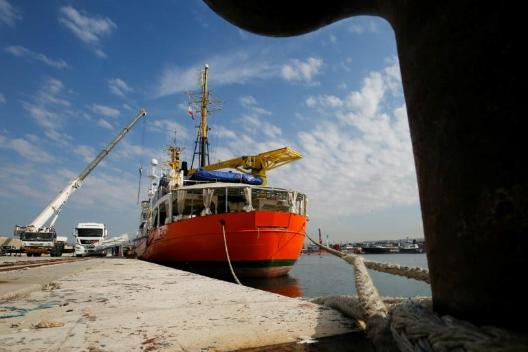 L'Aquarius accoste pour une escale technique — Marseille