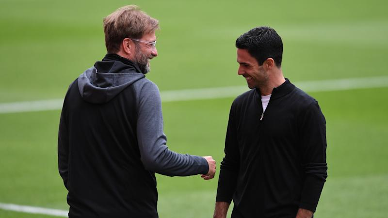 Arteta in awe of 'culture' Klopp has created at Liverpool