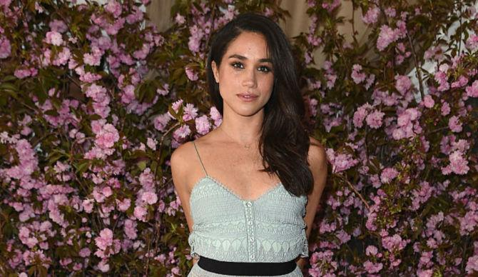 Meghan Markle At the Glamour and L'Oreal Paris Celebrate 2016 College Women Of The Year 2016