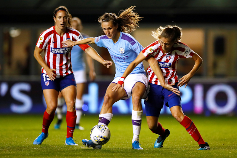 UEFA Women's Champions League: Manchester City held by Atletico, Lyon and PSG Enjoy Goal Glut