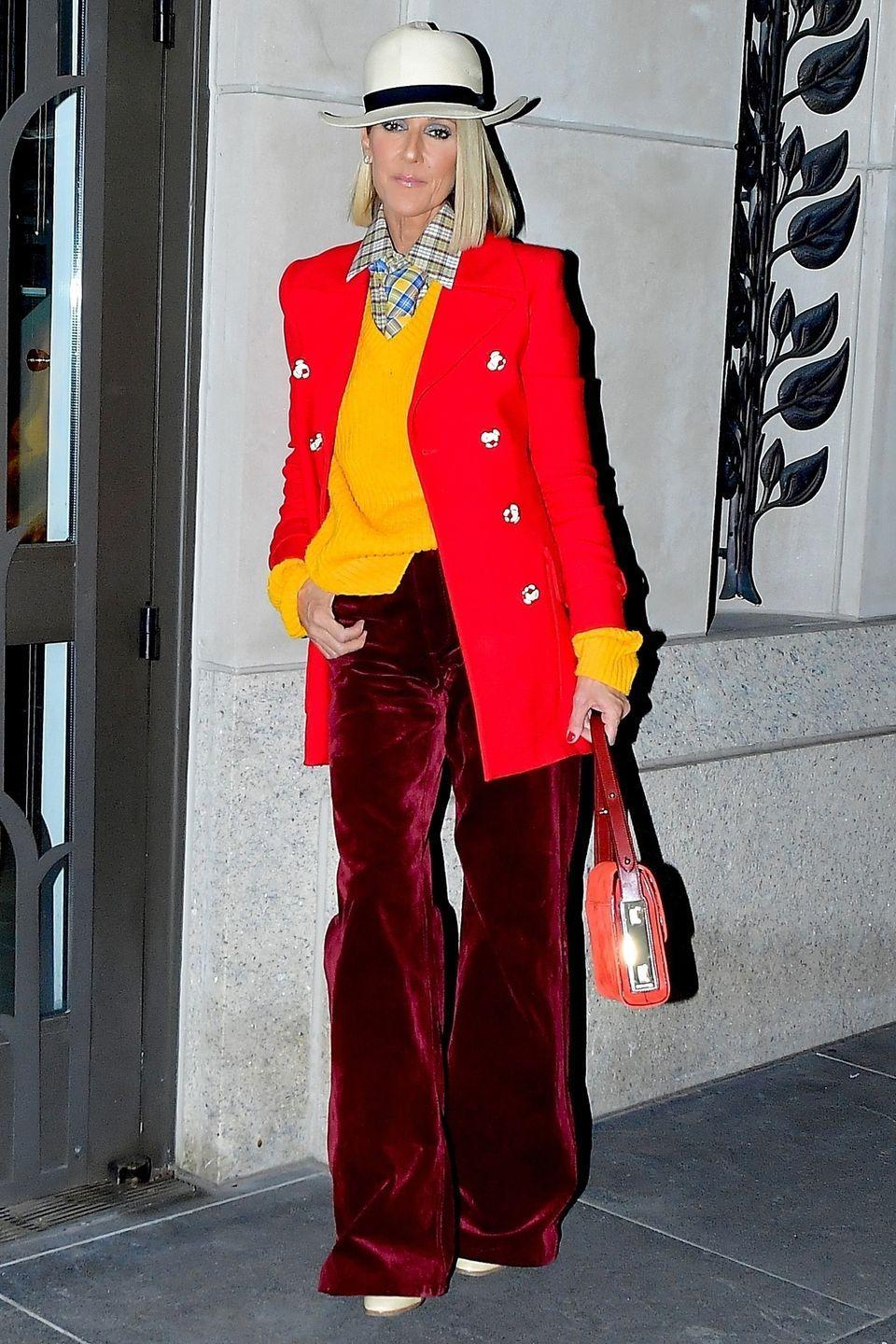 <p>The singer arrived at her sold out show at the Barclays Center in Brooklyn looking effortlessly cool in head-to-toe Marc Jacobs. </p>