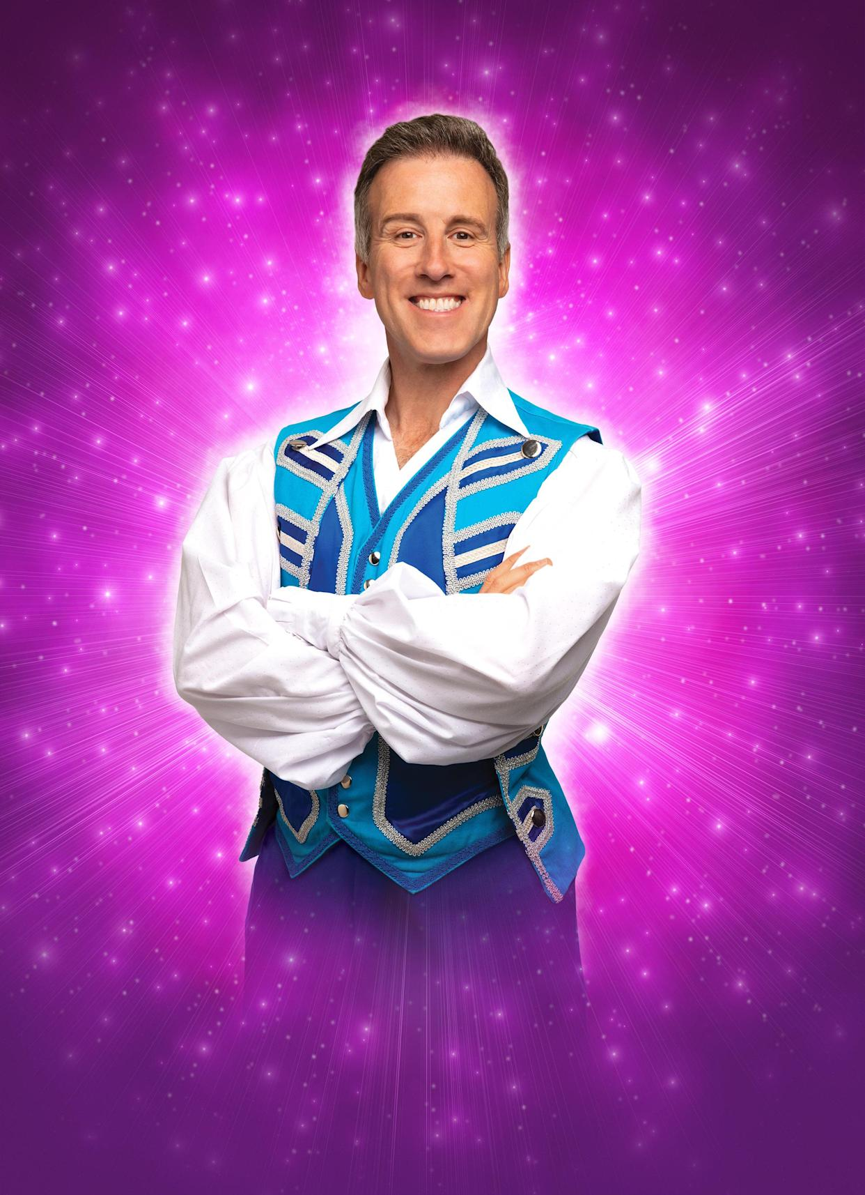 Du Beke will take to the stage as Buttons in Cinderella (PA)