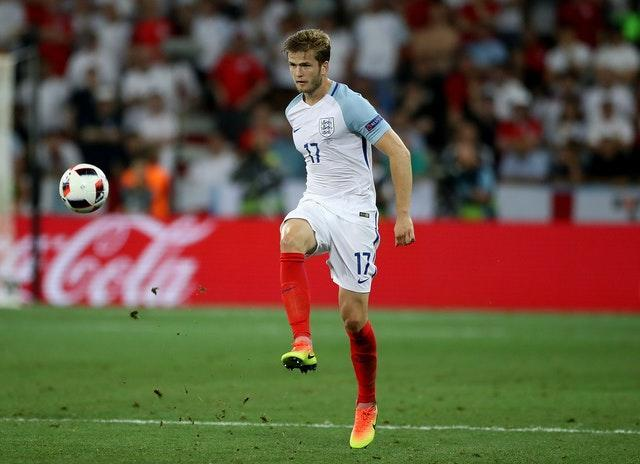 Dier was taken off at half-time with England trailing 2-1.