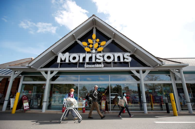 FILE PHOTO: FILE PHOTO: A Morrisons store is pictured in St Albans