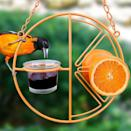 <p>How fun is this <span>Heath Outdoor Products CF-133 Clementine Oriole Feeder</span> ($13)?! Not only will you be able to feed the local birds and criters, but also, brightens up your environment. </p>