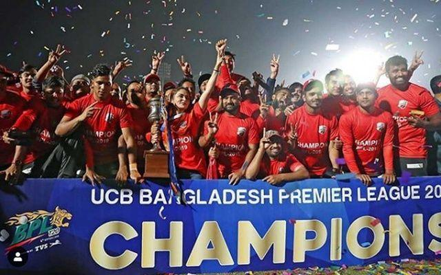 Comilla Victorians clinched the 2019 BPL title