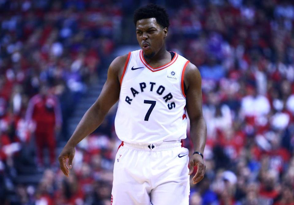 Kyle Lowry scores zero points in Raptors' Game 1 loss to Magic.