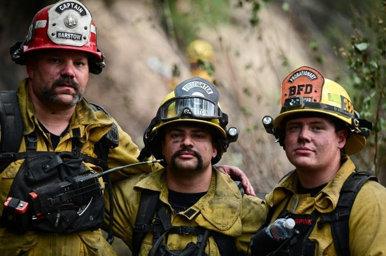 Some California residents have turned their ire on the firefighters who they say failed to save their homes