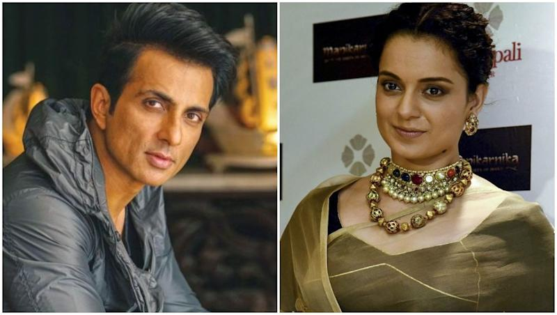 Kangana Ranaut Reveals Sonu Sood's Contract For Manikarnika: The Queen of Jhansi Was Terminated; Questions His Intentions to Malign the Project