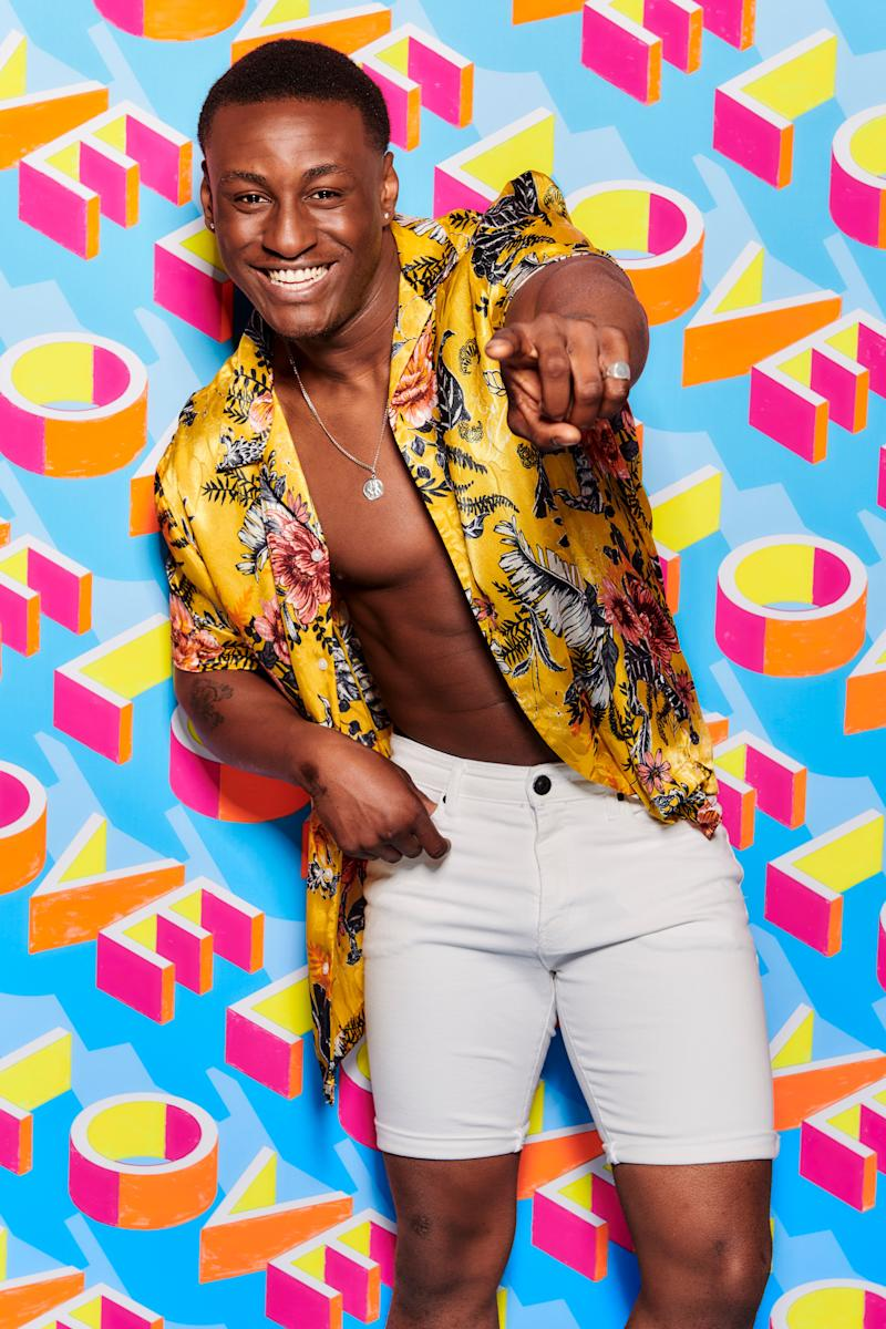 "<strong>Age:&nbsp;</strong>20&nbsp;<br /><br /><strong>From:&nbsp;</strong>London<br /><br /><strong>Occupation:&nbsp;</strong>Chef and semi-pro rugby player<br /><br /><strong>He says:&nbsp;</strong>""I&rsquo;m upbeat and cheeky and outrageous with my own friends so hopefully that continues in the villa. I&rsquo;m always on a mission to make people<br />laugh.That&rsquo;ll be of value in there."""