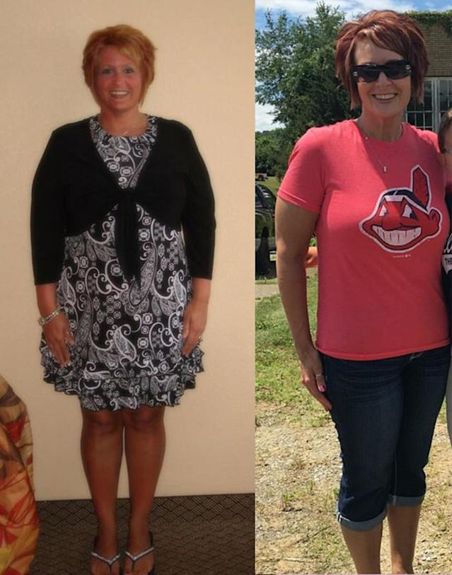 Kelly Nocero maintains her weight loss with portion control and moderate exercise. (Photo: Courtesy of Kelly Nocero)