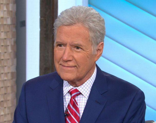 PHOTO: Alex Trebek appears on 'Good Morning America,' May 1, 2019. (ABC News)