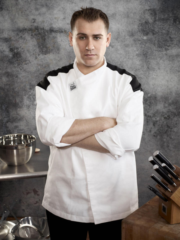 <b>Name:</b> Chris Carrero<br><b>Age: </b>33<br><b>Occupation: </b>Executive Chef <br><b>Hometown:</b> Queens, NY<br><b>Signature Dish:</b> Filet Mignon with Mushroom Cream Sauce