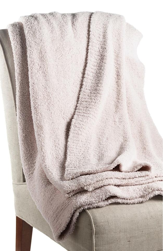 "<p>It's only natural to need a quality throw (or three) to keep you cozy and comfy, so by placing a few styles on your registry you'll be set. Some of our favorites you can add to your Nordstrom registry include the buttery soft <a rel=""nofollow"" href=""http://shop.nordstrom.com/s/barefoot-dreams-cozy-chic-throw/2838001?mbid=synd_yahoolife"">Barefoot Dreams Cozy Chic Throw</a> ($147) made with easy-to-care for microfiber, and the luxurious <a rel=""nofollow"" href=""http://shop.nordstrom.com/s/giraffe-at-home-luxe-throw/2938151?mbid=synd_yahoolife"">Giraffe at Home Throw</a> ($178 – $258) trimmed in satin for ultimate feels.</p>"