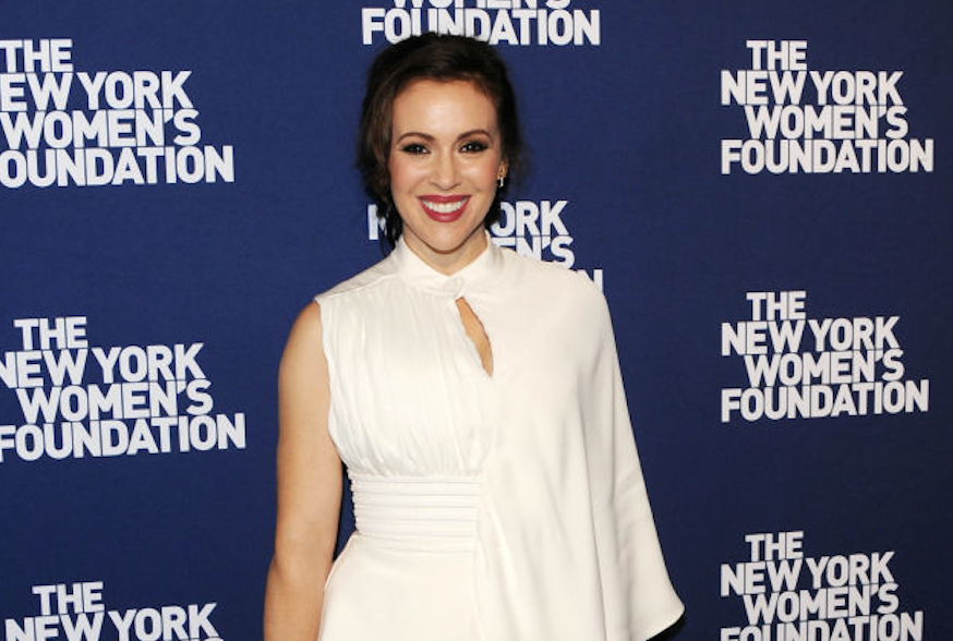Alyssa Milano has transitioned into political activism. (Photo: Getty Images)