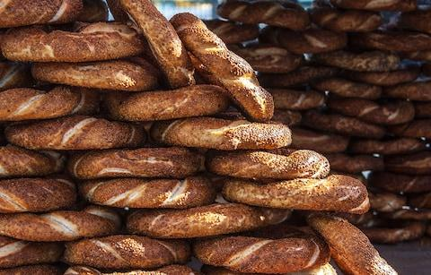 Simit in Istanbul - Credit: getty