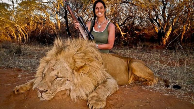 Smiling Hunter's Dead Lion Photo Highlights Big Cats' Plight