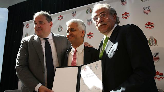 Holding the 2026 tournament in the United States, Mexico and Canada would be a lucrative affair, according to a report cited by the bid committee