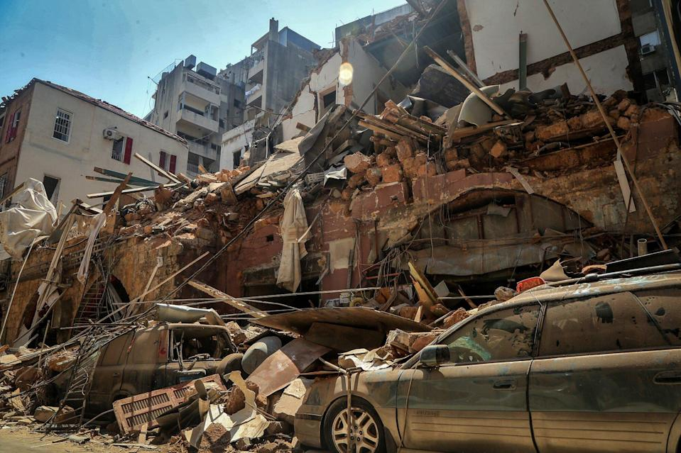 Celebs Mourn Deadly Beirut Explosion While Fertilizer Compound & Fireworks Eyed as Possible Cause