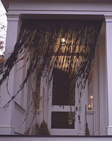 """<p>Sometimes the best thing about crafting is that <i>making</i> something is actually <i>destroying</i> something … like these <a href=""""http://throwtheparty.blogspot.com/2012/10/outdoor-halloween-decorations-simple.html?m=1"""">garbage bag drapes</a>.<i>(Photo: <a href=""""http://throwtheparty.blogspot.com/2012/10/outdoor-halloween-decorations-simple.html?m=1"""">Throw the Party</a>)</i></p>"""